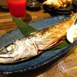 美味物問屋 うれしたのし屋 - 三浦サバ一本焼き680円