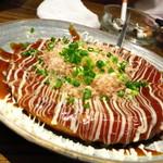 美味物問屋 うれしたのし屋 - 山芋のお好み焼き680円