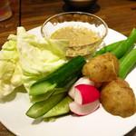 美味物問屋 うれしたのし屋 - 自野菜の自家製バーニャーカウダーソース550円