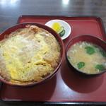 馬酔木 - アベック丼¥850