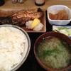明よし - 料理写真:鯖の塩焼き(700円)