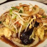 新華苑 - 料理写真:野菜炒め、単品の半分ぐらいかな!?