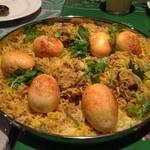 ガラムマサラ - 2013年5月13日オフ会 親子ビリヤニ 卵とチキン