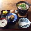 雪姫亭 - 料理写真:鴨鍋定食 1050円