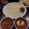 ジロー - 料理写真:野菜カレー/半熟カレー