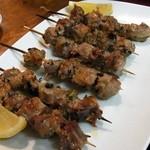 オリエンタルキッチン マリカ - 豚ハラミ串