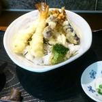 創作天ぷら いち - 天丼定食1200¥