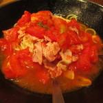 らるきい - トマト ベーコンのパスタ