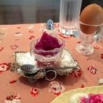 ホワイトバーチ - 手作りの紫芋のジャム