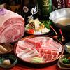 銀座しゃぶ通 好の笹 - 料理写真:牛・豚・合鴨の3種類が盛り合わせになったお肉を堪能できるコース