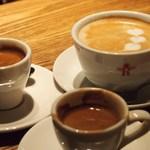 CAFE RIGOLETTO - カプチーノ、コーヒー