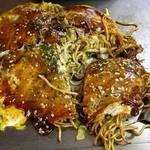 大福 - 肉玉そば450円、安い!