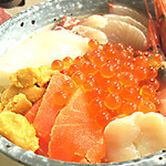 津軽海峡亭 - 海峡丼1500円