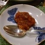 島 - 牡蠣にかけるソース