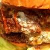S.B.DINER-KOBE - 料理写真:パティに融けたチーズ