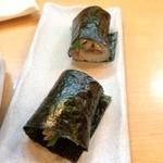 ひろすし - アジの巻き寿司