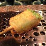 芦屋 串の助 - そらまめ豆腐