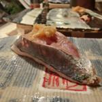 第三春美鮨 - 真鯵 140g 瀬付き釣 鹿児島県出水