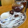 サンタママズカフェ - ドリンク写真:2013.05 コーヒー、450はちょっと高いかとも感じましたが、サイフォンで1杯半分くらい有ったのは花丸♪