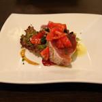 フォルトゥーナ - 【ディナー】メジマグロのタリアータ