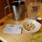 コメダ珈琲店  - ピーナッツ サービスでもらいました(2013.05月)