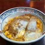 満留賀 - カツ丼セット
