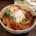 らーめん処 玄庵 - 金賞の塩ラーメン680円+チャーシュー+味玉