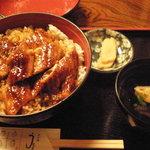 うなぎ おがわ - うな丼 特上(1,890円)