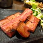 焼き物コロシアム煙神 - 厚切りベーコン420円