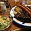 Cafe&Bistro Panier - 料理写真:ソーセージカレー。スパイシーな黒カレーと長いソーセージが最高。旨かった。