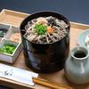 砂屋 - 料理写真:割子蕎麦:上段から薬味とたれを掛けてお召し上がりください。
