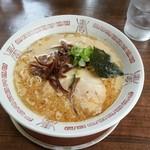 十五代目哲麺 - 豚骨醤油ラーメン