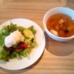 19096142 - +100円でスープとサラダのセット('13.5)