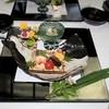 竹千代霧島 - 料理写真:先付けは,蓮胡麻豆腐の美味出汁。