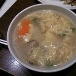 EURO CHINA ミンミン - 卵スープ