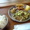 喫茶 場々居茶 - 料理写真:生姜焼定食(味噌汁付)