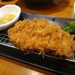 新宿さぼてん - 三元豚 ロースかつ定食のネギ塩ダレ