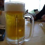山の原ゴルフクラブ - 至福の1杯です