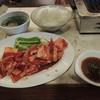 飛鳥 - 料理写真:大盛り焼肉定食