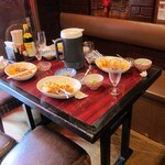 中国家庭料理 楊 - 隣りのテーブル