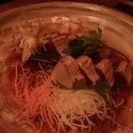 和座ダイニング 茶蔵 - 藁焼きカツオのタタキ