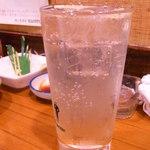 石松 - レモンサワー320円