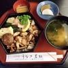 うなぎ若松 - 料理写真:とり重900円