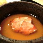 宮川本廛 - 宮川御膳 1050円 の里芋の蟹あんかけ