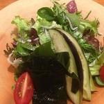 鉄板焼 濠 - 水なすのサラダ