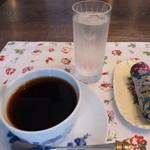 ホワイトバーチ - 1杯1杯ネルドリップされたコーヒーは美味しかったけど470えんです:汗