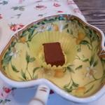 ホワイトバーチ - 小さなチョコレートがサーついてきました。