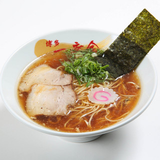 博多一幸舎 慶史 - 料理写真:【醤油ハイブリット】 鶏の甘みと魚の和風を懐かしさでまとめた博多醤油ラーメン。