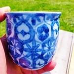里山カフェ - 器は那須塩原の酒井蘭子さん作