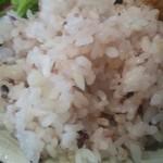 美味団欒 はらにわ小町 - これで50穀米という事は無いだろう。